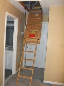 Attic Ladder Safety Tips
