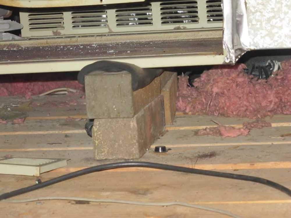 Katy Home Inspection Attic